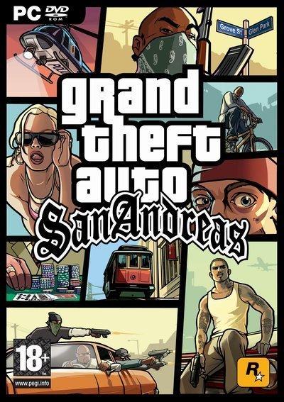 GTA - San Andreas (2005)Пять лет назад Карл Джонсон бежал из Лос-Сантоса (штат Сан-Андреас) — города преступлений, наркотиков и коррупции, где даже кинозвезды и миллионеры вынуждены любыми способами защищаться от вымогателей и бандитов. Начало 1990-х годов. Карл возвращается домой. Его мать убита, семья распалась, друзья попали в беду, а против него самого выдвинуто сфабрикованное обвинение в убийстве. Чтобы вернуть близких и восстановить былые связи, Карл отправляется в опасное турне по Сан-Андреасу: он должен во что бы то ни стало завоевать улицы городов штата.