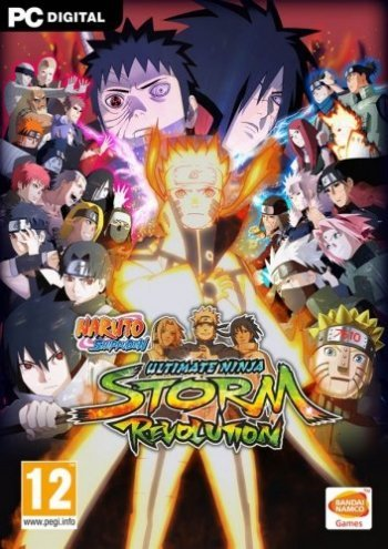 NARUTO SHIPPUDEN: Ultimate Ninja STORM Revolution (2014) PC | RePack by Decepticon
