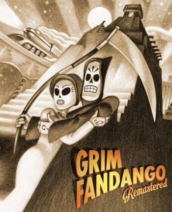 Grim Fandango Remastered (2015) PC | RePack by XLASER