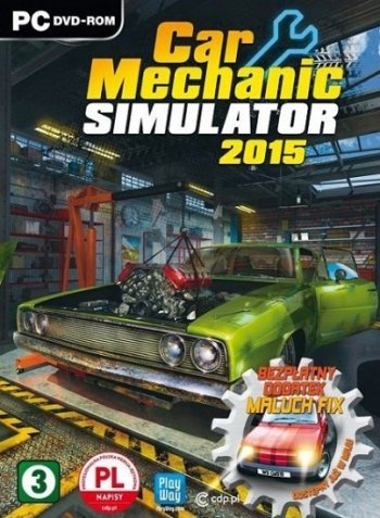 Car Mechanic Simulator 2015 (2015) PC | Repack от xatab
