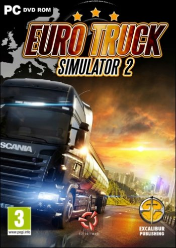 Euro Truck Simulator 2 [v 1.32.3s + 61 DLC] (2013) PC | RePack от xatab