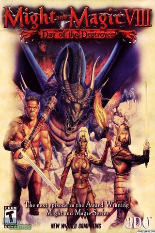 Might and Magic 8: Day of the Destroyer (2000)