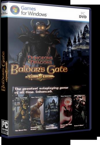 Baldur's Gate 2: Enhanced Edition (2001) PC | RePack by xatab