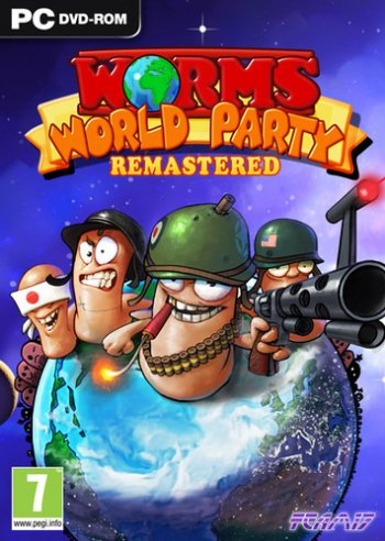 Worms World Party Remastered (2015) PC | RePack by FitGirl