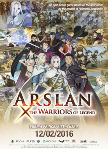 ARSLAN: THE WARRIORS OF LEGEND (2016)