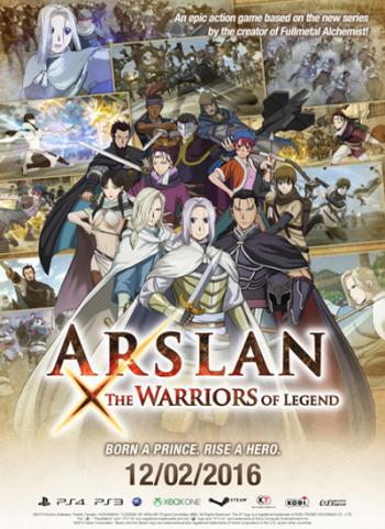 ARSLAN: THE WARRIORS OF LEGEND (2016)