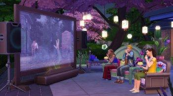 The Sims 4 Домашний кинотеатр (2016)