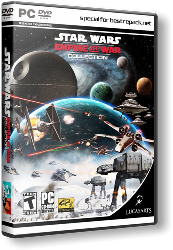 Star Wars Empire At War (2006) PC | RePack by [R.G. Catalyst]