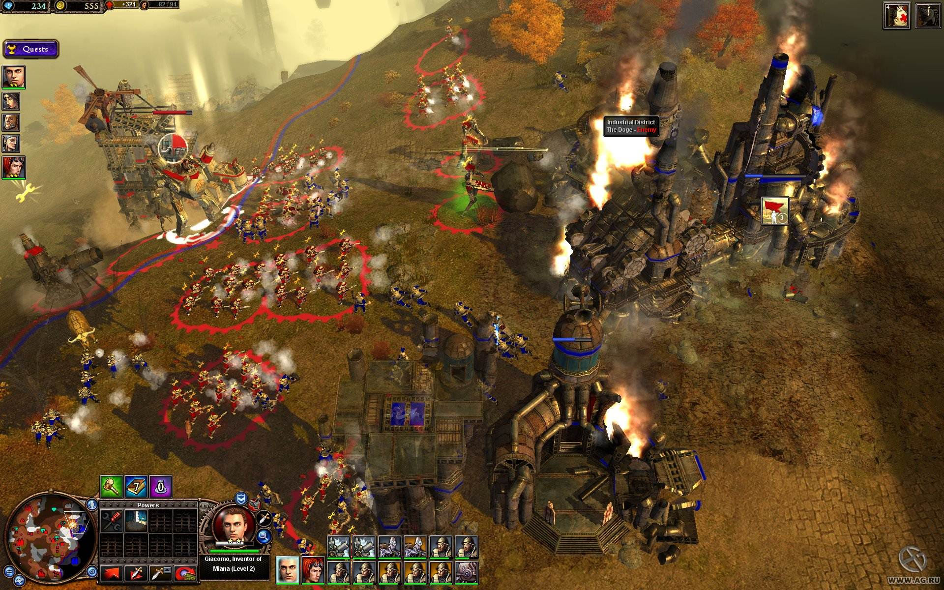 Rise of Nations: Rise of Legends - PC - IGN