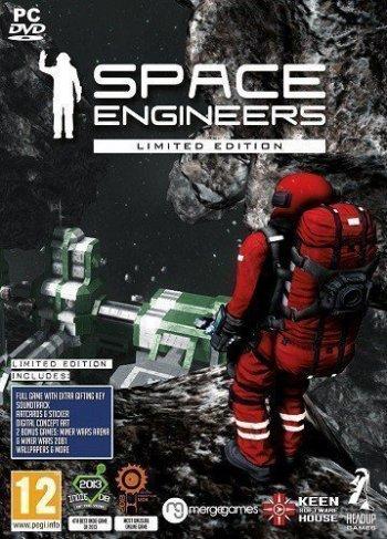 Космические инженеры / Space Engineers [v 1.192.019 + DLCs] (2019) PC | RePack от xatab