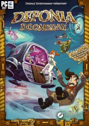 Deponia Doomsday (2016) PC | RePack от R.G. Механики