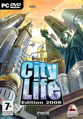City Life 2008 - Город, созданный тобой (2008) PC | RePack by a-line