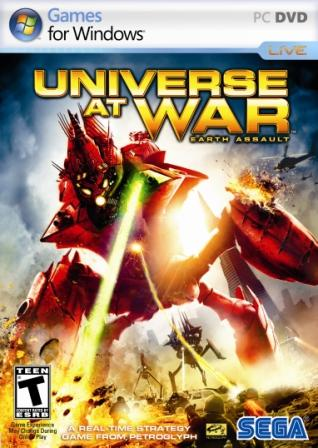 Universe at War: Earth Assault (2007) PC | RePack by R.G. Recoding