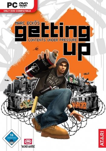 Marc Ecko's Getting Up: Contents Under Pressure (2006) PC | RePack от R.G. Origami