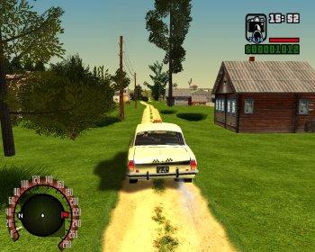GTA / Grand Theft Auto: San Andreas - Criminal Russia (2005)