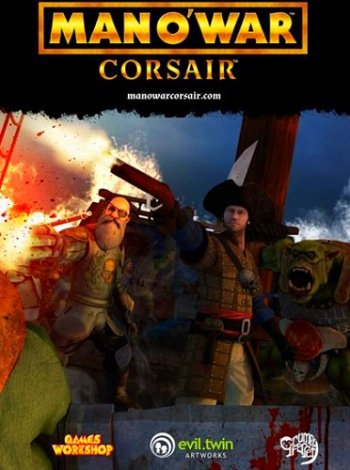 Man O' War: Corsair - Warhammer Naval Battles (2017) PC | Лицензия