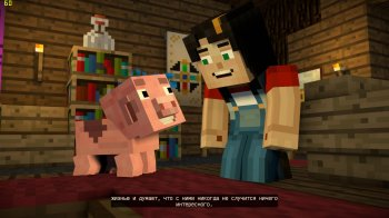 Minecraft: Story Mode - Season Two. Episode 1-5 (2017) PC | RePack от xatab