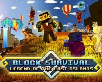 Block Survival: Legend of the Lost Islands (2017) PC | Лицензия