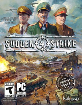 Sudden Strike 4 [v 1.12.28520 + 4 DLC] (2017) PC | RePack от xatab