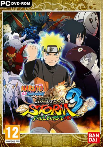 NARUTO SHIPPUDEN: Ultimate Ninja STORM 3 Full Burst HD (2017) РС | RePack от FitGirl