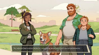 Dream Daddy: A Dad Dating Simulator (2017) PC | Пиратка