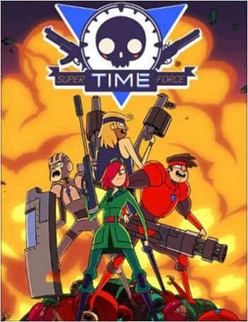 Super Time Force Ultra (2014) PC   Пиратка