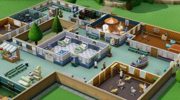 Two Point Hospital [v 1.9.24446 + DLC] (2018) PC | RePack от xatab