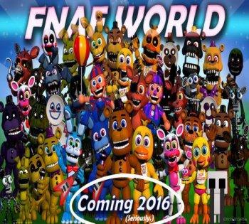 FNaF World (2016) PC | Лицензия