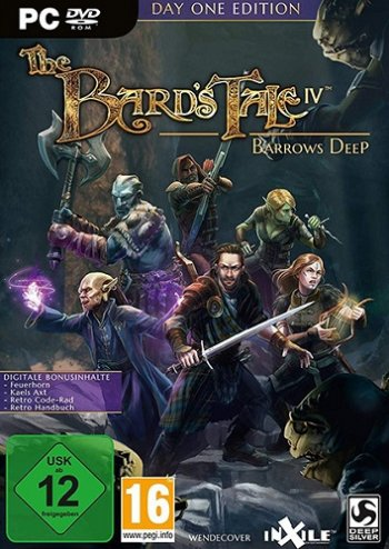 The Bard's Tale IV: Barrows Deep [Update 3] (2018) PC | Repack от xatab