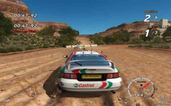 SEGA Rally (2007) PC | Пиратка