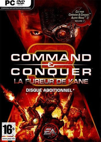 Command & Conquer 3: Kane's Wrath (2008) PC | RePack от xatab
