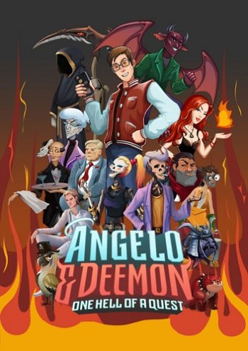 Angelo and Deemon: One Hell of a Quest (2019) PC | Пиратка