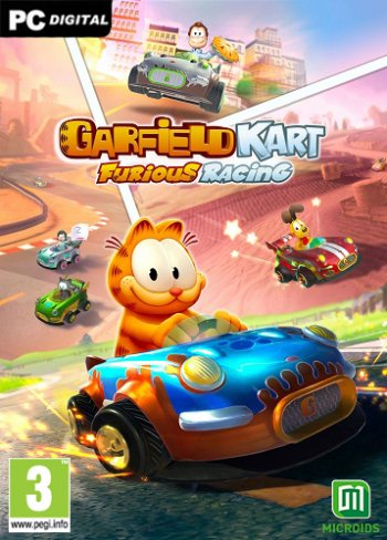 Garfield Kart - Furious Racing (2019) PC | Лицензия